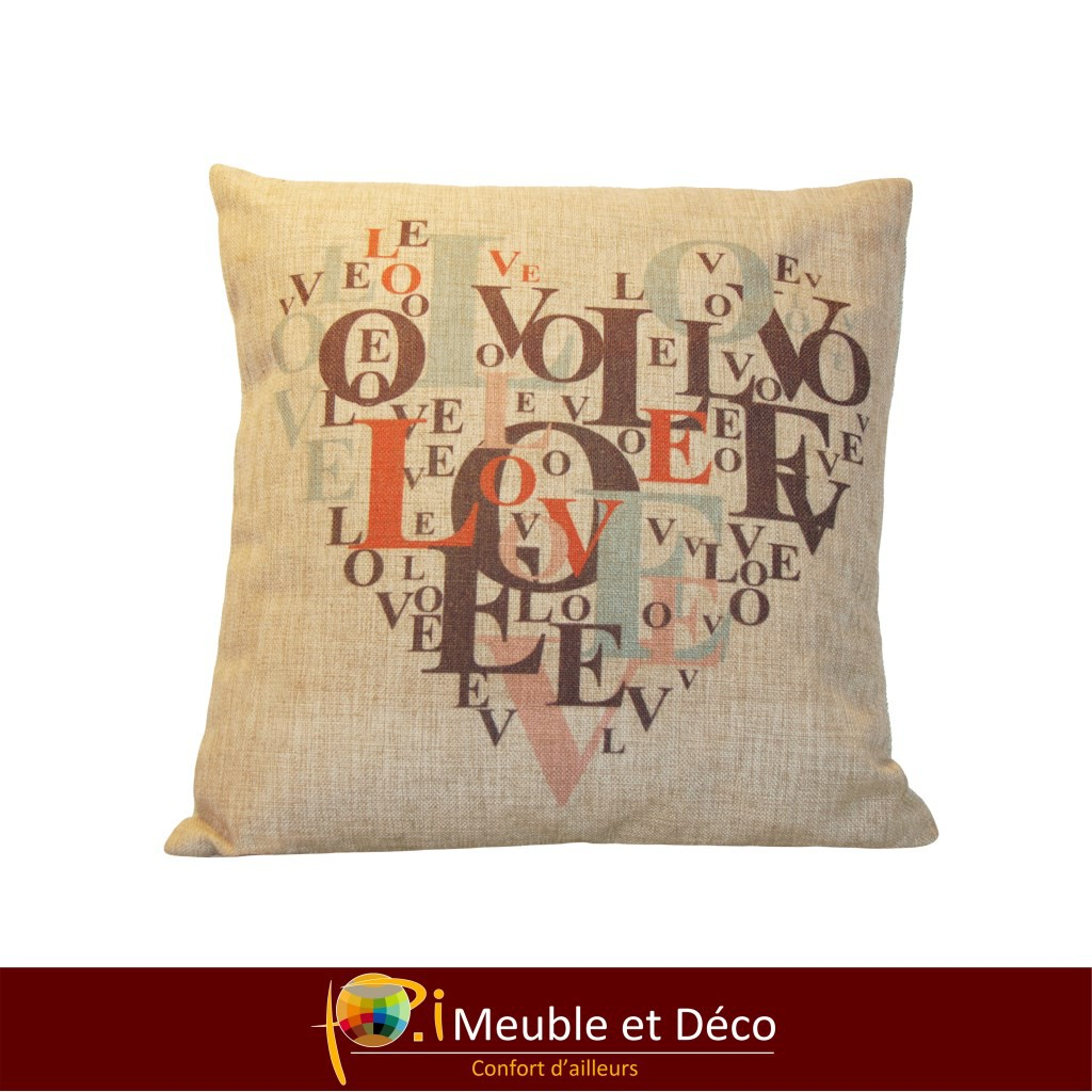 coussin HEART