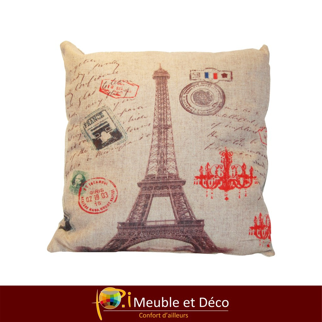 coussin EIFFEL TOWER