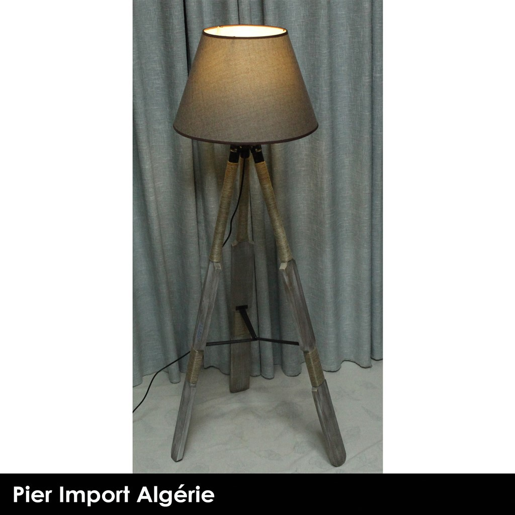Lampadaire INDUSTRY Gris