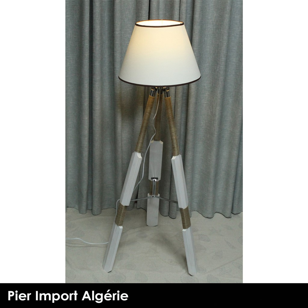 Lampadaire INDUSTRY Blanc
