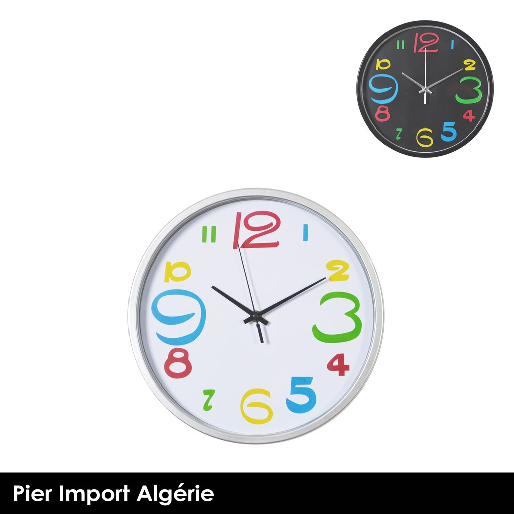 Horloge Design 2 couleurs