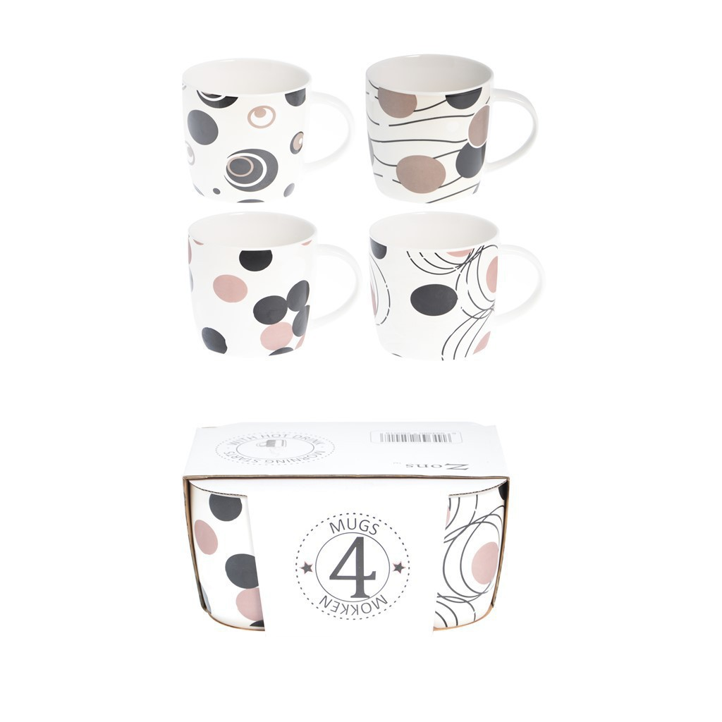 Display 4 mug Ceramique